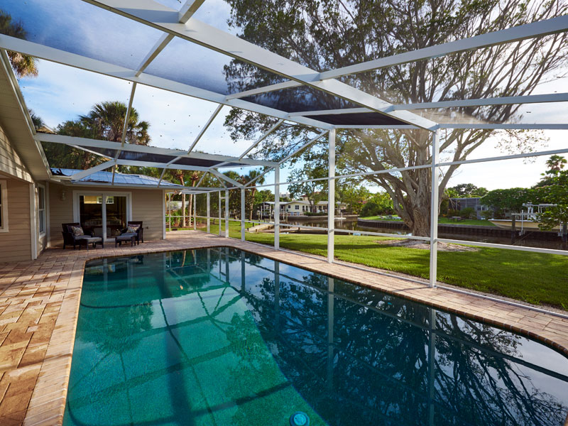 Pool patio enclosures commercial residential aluminum for Pool designs venice