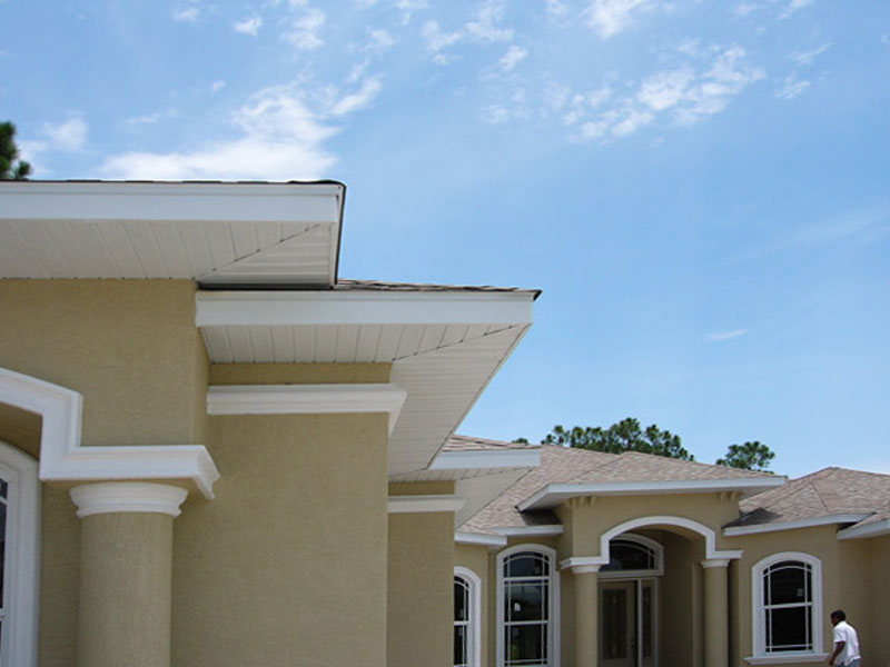 Soffit And Fascia Commercial Residential Aluminum