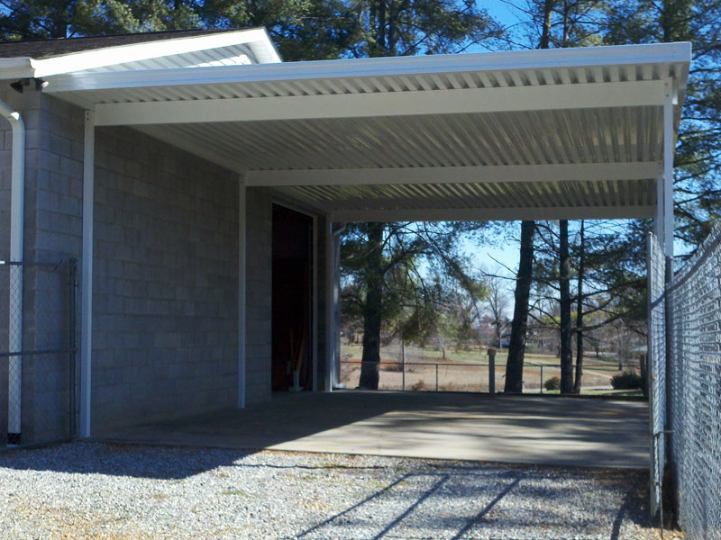 attached_aluminum_carport_storage_example