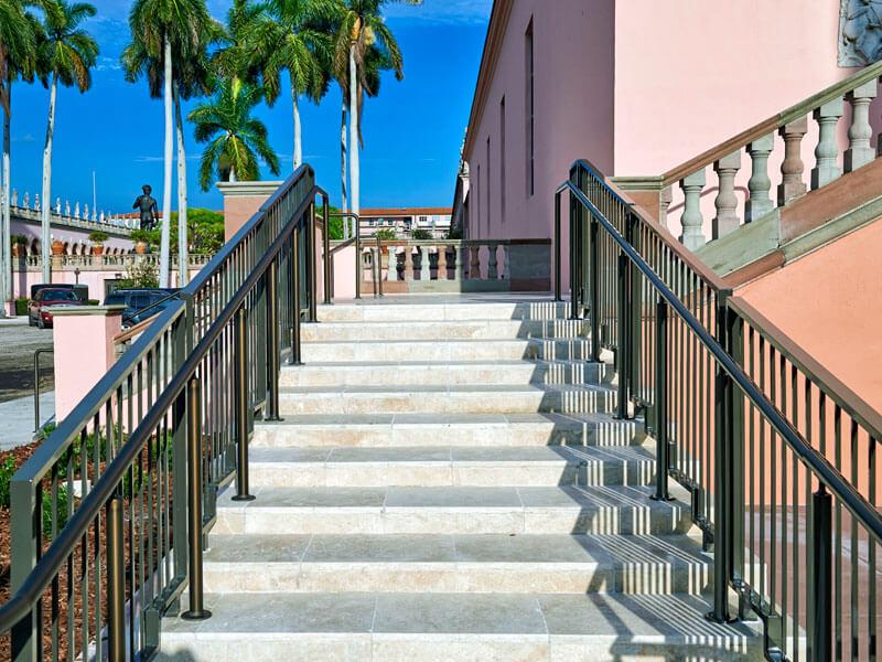 custom aluminum handrail sarasota