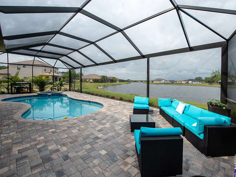 ClearView pool enclosure from CRA Commercial Residential Aluminum Venice, FL