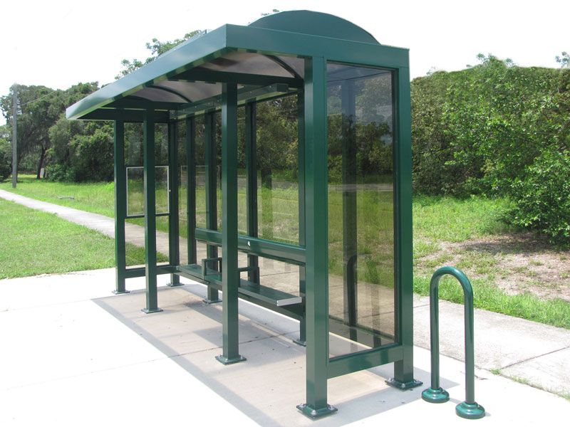 aluminum bus shelters from cra