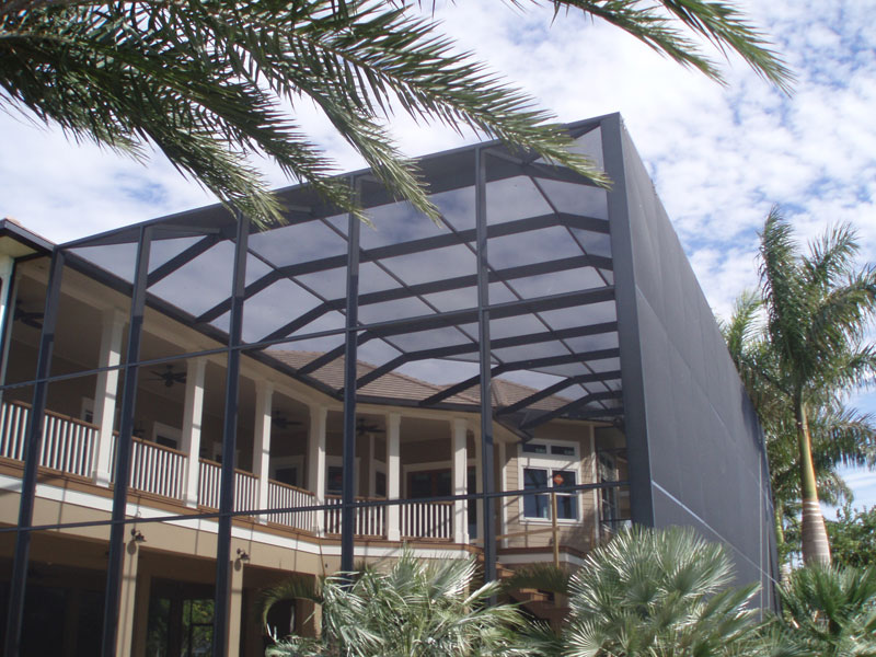 pool cage commercial residential aluminum