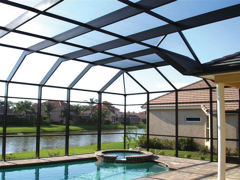 pool cage repair, rescreening, window screen repair, screen door repair