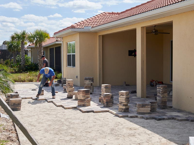 foundation decking and pavers, sarasota