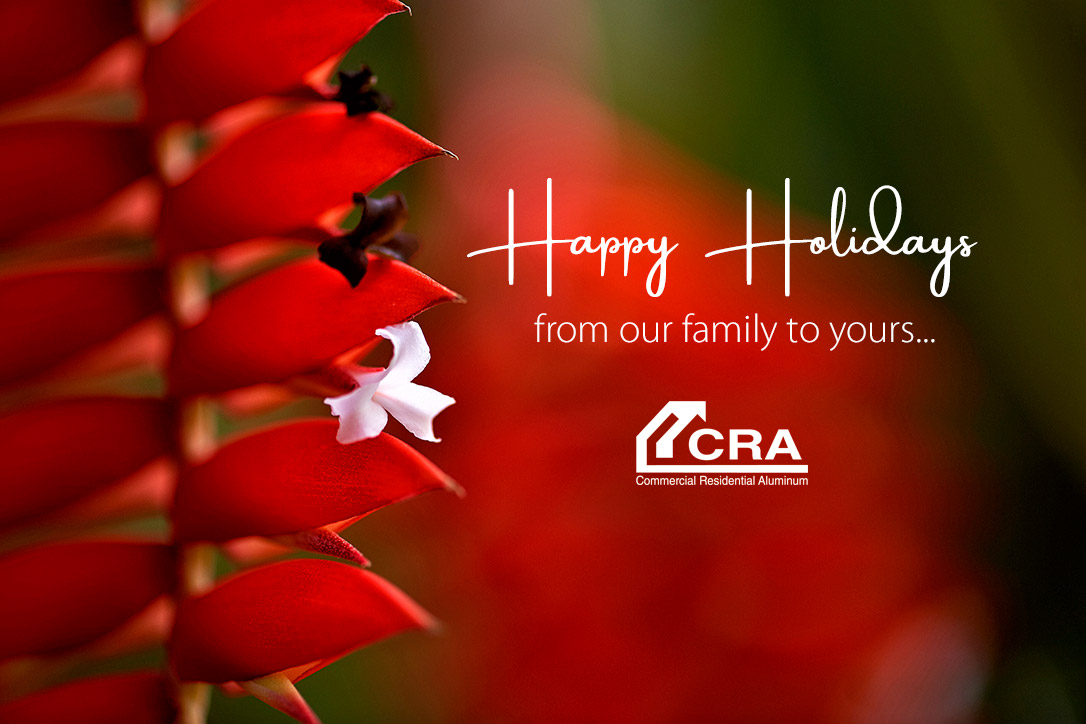 Happy Holidays Commercial Residential Aluminum
